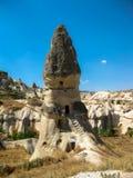 Lampglasgrotta i Cappadoccia Arkivbild