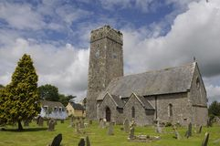 Lamphey Church Stock Photo