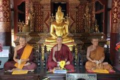 Lamphun świątynia Thailand Zdjęcia Royalty Free