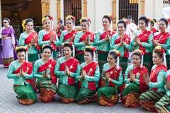 Lamphun, Ταϊλάνδη - 13 Μαΐου 2016 Στοκ φωτογραφίες με δικαίωμα ελεύθερης χρήσης