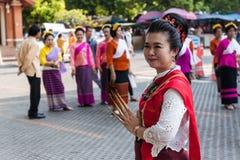 Lamphun, Ταϊλάνδη - 13 Μαΐου 2016 Στοκ φωτογραφία με δικαίωμα ελεύθερης χρήσης