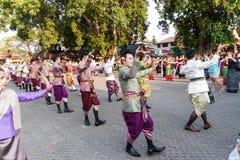 Lamphun, Ταϊλάνδη - 13 Μαΐου 2016 Στοκ εικόνες με δικαίωμα ελεύθερης χρήσης