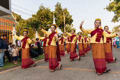 Lamphun, Ταϊλάνδη - 13 Μαΐου 2016 Στοκ εικόνα με δικαίωμα ελεύθερης χρήσης