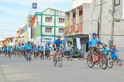 Lamphun, ТАИЛАНД, 16-ое августа - 2015: Это событие Стоковое Изображение RF