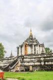 Lamphun Таиланд, висок Wat Phra Yuen тайский Стоковая Фотография