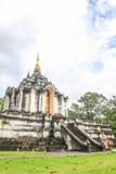 Lamphun Таиланд, висок Wat Phra Yuen тайский Стоковое Изображение