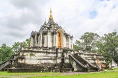 Lamphun Таиланд, висок Wat Phra Yuen тайский Стоковое Фото
