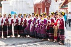 Lamphun, Таиланд - 13-ое мая 2016 Стоковые Фотографии RF
