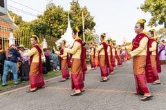 Lamphun, Таиланд - 13-ое мая 2016 Стоковая Фотография