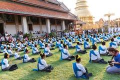Lamphun, Таиланд - 13-ое мая 2016 Стоковые Изображения RF