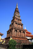Lamphun-hariphunchai-temple. Thailand Architecture Stock Photos