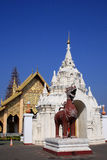 Lamphun-hariphunchai-temple. Thailand Architecture Royalty Free Stock Photo