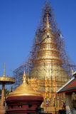 Lamphun-hariphunchai-temple. Thailand Architecture Royalty Free Stock Photography
