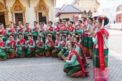 Lamphun, Tailândia - 13 de maio de 2016 Foto de Stock Royalty Free