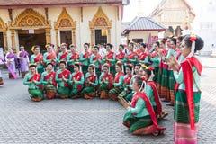 Lamphun, Tailândia - 13 de maio de 2016 Imagens de Stock Royalty Free