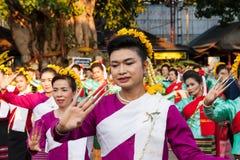 Lamphun, Tailândia - 13 de maio de 2016 Fotos de Stock