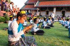 Lamphun, Tailândia - 13 de maio de 2016 Fotografia de Stock