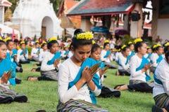 Lamphun, Tailândia - 13 de maio de 2016 Fotos de Stock Royalty Free