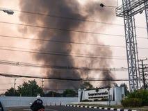 Lamphun, Tailandia - 9 aprile 2016: Durante mattina il 9 aprile, 2 Fotografia Stock Libera da Diritti
