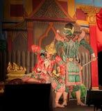 Lamphun, TAILANDIA - 19 marzo: Vestito tradizionale tailandese. attori per Fotografia Stock