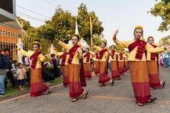 Lamphun, Thaïlande - 13 mai 2016 Image libre de droits