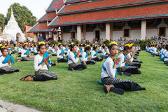 Lamphun, Thaïlande - 13 mai 2016 Images stock