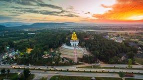Lamphun, Thailand, 20 December 2016: Het gelijk maken van super weg van La Royalty-vrije Stock Afbeelding