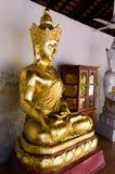 LAMPHUN, THAILAND, February 19, 2016: Buddha imageat Buddhist t Stock Images