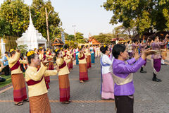 Lamphun, Thailand - 13. Mai 2016 Stockbild