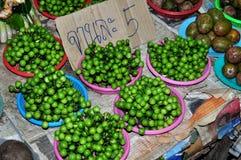 Lamphun,Thailand: Makhan Eggplants Stock Images