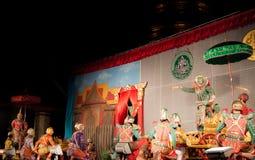Lamphun, THAILAND - March 19: Thai Traditional Dress. actors per Royalty Free Stock Photos