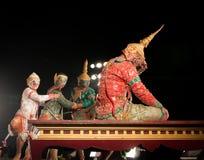 Lamphun, THAILAND - March 19: Thai Traditional Dress. actors per Stock Photos