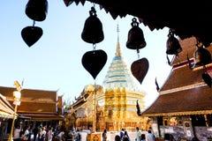 Lamphun Wat Phra That Hariphunchai imagen de archivo