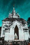 Lamphun - Wat Phrathat Hariphunchai fotografia stock libera da diritti