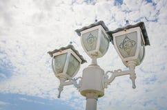 Lampin der Himmel stockbilder