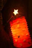 Lampion в ноче Стоковая Фотография