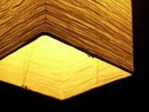 Lampion asiatique, Lumineux-allumé Image libre de droits