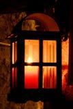 Lampion, Bożenarodzeniowy czas Obraz Royalty Free