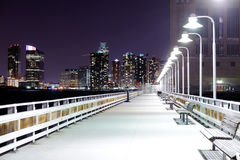lampion bridżowa noc fotografia royalty free