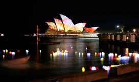 lampion domowa opera Sydney zdjęcie royalty free