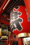 Lampion en el templo de Asakusa, Tokio, Japón Fotos de archivo libres de regalías