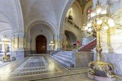 Lampion i pokoju pałac fotografia royalty free