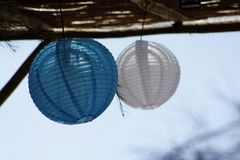 Lampion lantern. Light royalty free stock photo