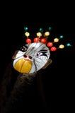 lampion maska Zdjęcie Royalty Free