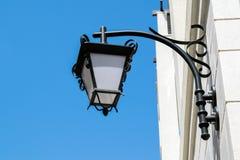 Lampion na ścianie dom Fotografia Stock