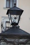 Lampion na kamiennym filarze Obraz Stock
