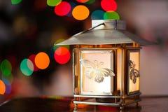 Lampion na nowego roku drzewie obrazy stock