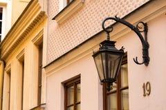 Lampion na ulicie zdjęcia royalty free