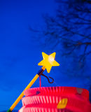 Lampion in the night Stock Image