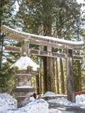 Lampion Nikko główna brama obraz stock